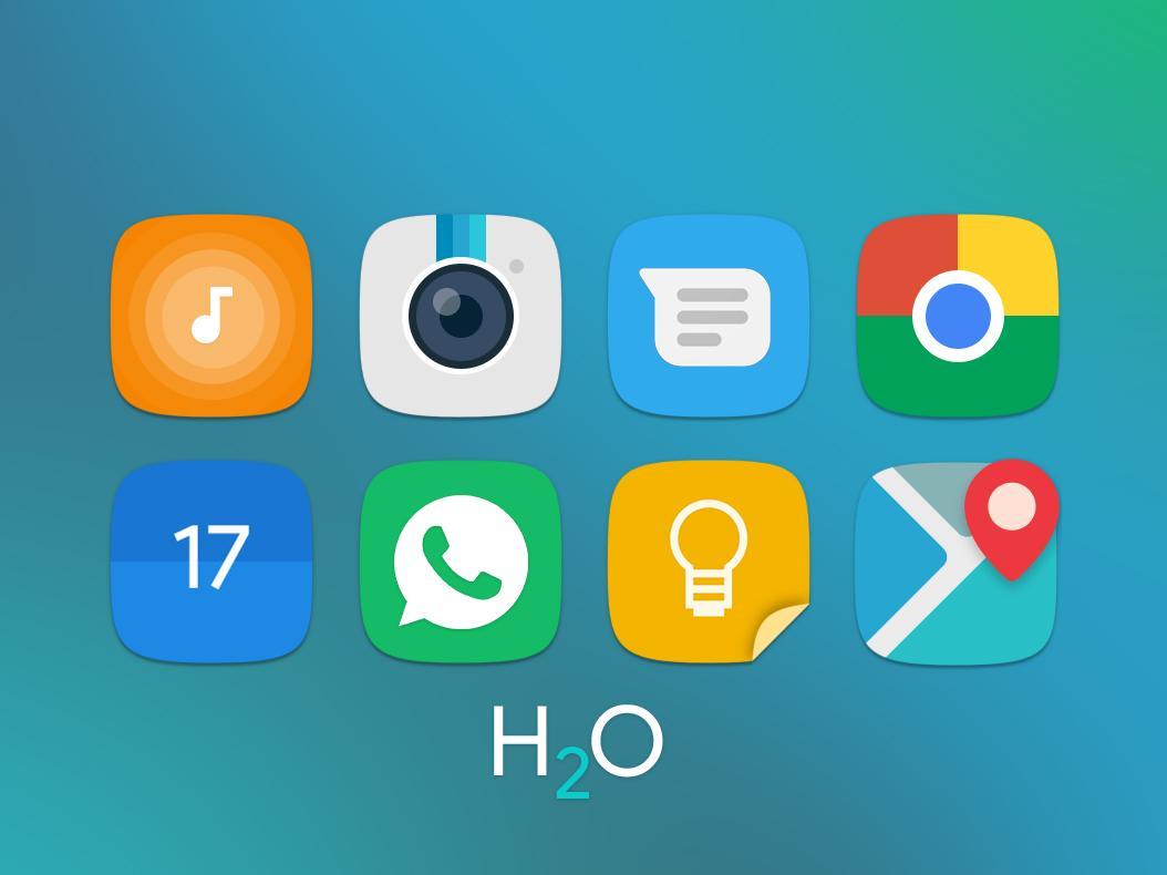 H2O Free Icon Pack screenshot 2