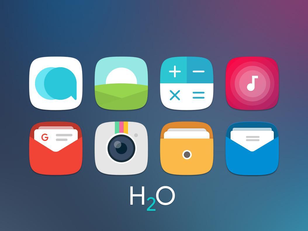 H2O Free Icon Pack screenshot 1