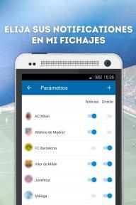 Fichajes fútbol: mercado, resultados, directo screenshot 3