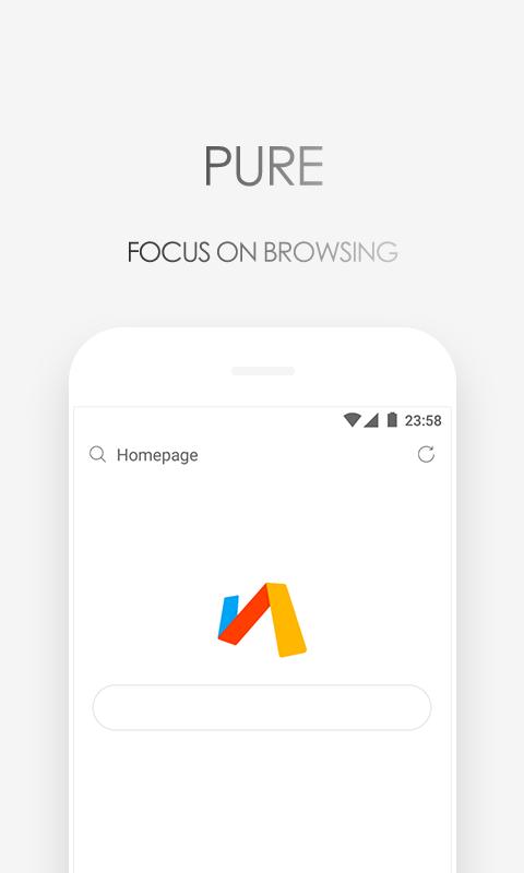 Via Browser - Fast & Light - Geek Best Choice screenshot 1