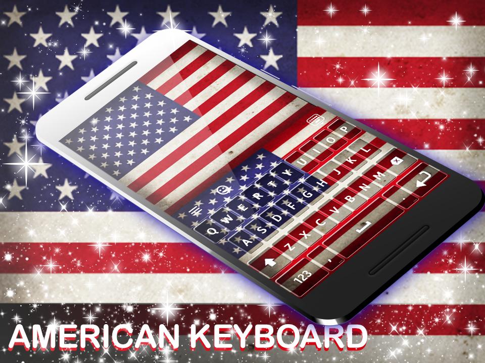 American Keyboard 2019 screenshot 1