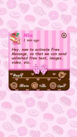 chocolate cake theme for go sms pro v1 0 60 download apk for