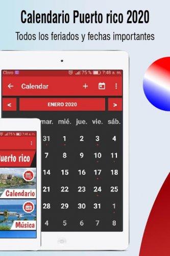 Calendario Puerto Rico 2020 Dias Feriados 2020 1 19 Download Android Apk Aptoide