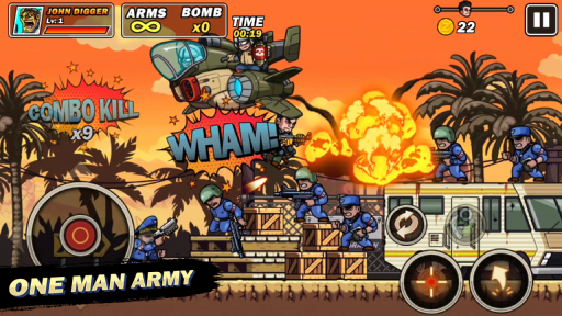 Metal Commando - Squad Metal Shooter screenshot 3