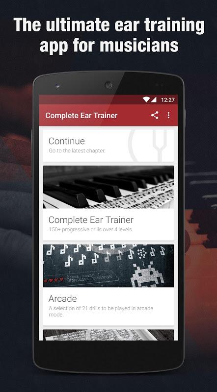 Complete Ear Trainer screenshot 1