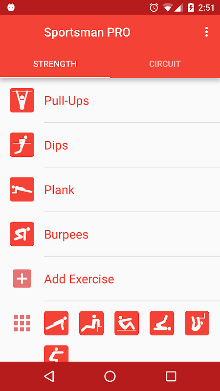 Bodyweight Workout screenshot 1