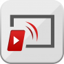 ícone tubio videos da web na tv