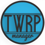 twrp manager requires root icon