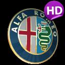 3D ALFA ROMEO Logo HD LWP