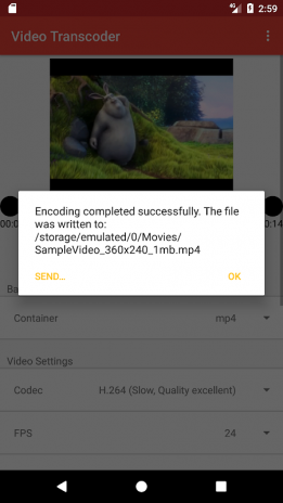 Video Transcoder 0 14 Download APK for Android - Aptoide