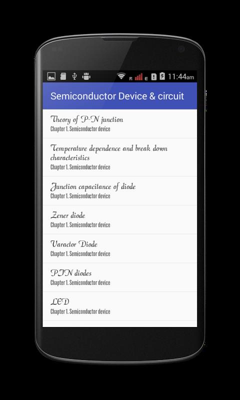 Semiconductor Device & circuit screenshot 2