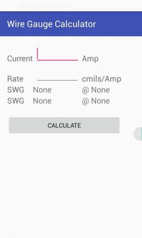 Wire gauge calculator 10 download apk for android aptoide wire gauge calculator screenshot 1 keyboard keysfo