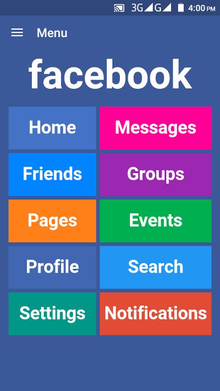Febu for Facebook & Messenger - All Social Network screenshot 1