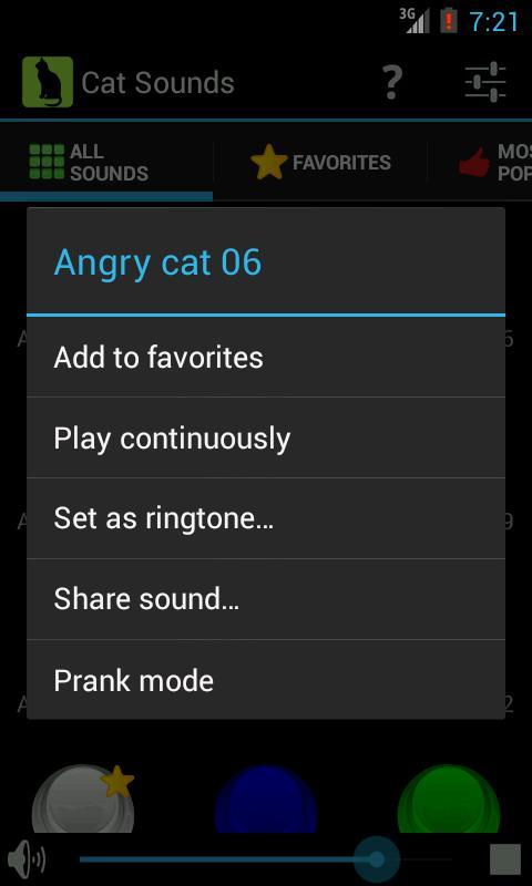 Cat Sounds screenshot 2