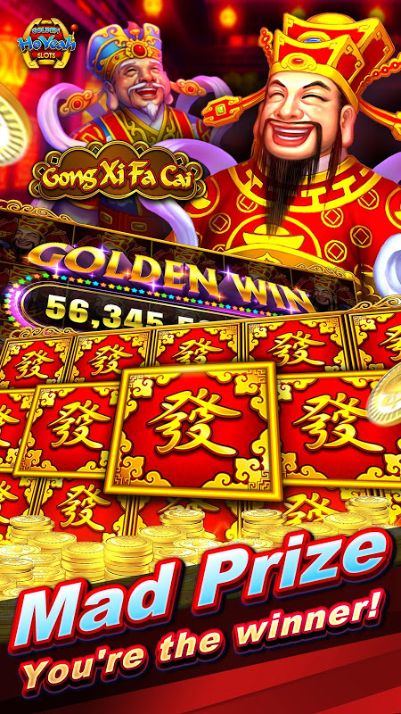 Slots (Golden HoYeah) - Casino Slots screenshot 2