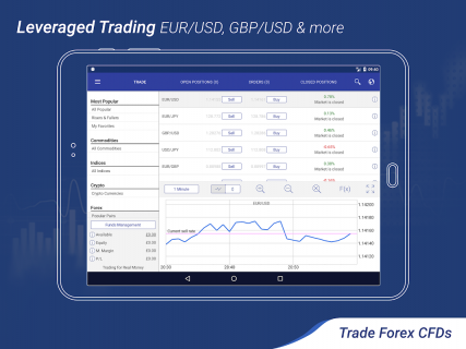 Plus500: CFD Online Trading on Forex and Stocks screenshot 15
