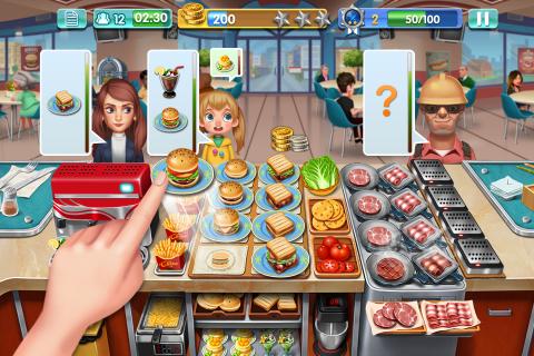 Crazy Cooking - Star Chef screenshot 1