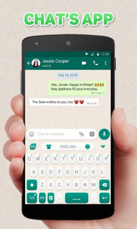GO Keyboard Theme for Chat's App 4 5 Download APK for Android - Aptoide