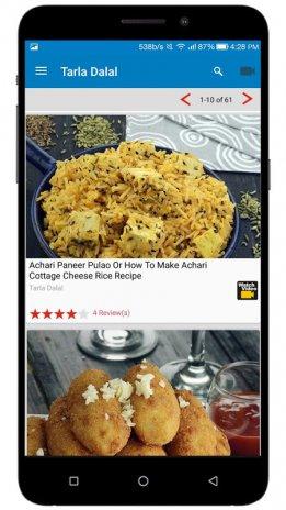 Tarla dalal recipes indian recipes 54 download apk for android tarla dalal recipes indian recipes screenshot 3 forumfinder Choice Image