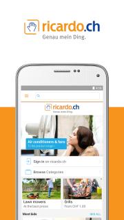 ricardo.ch screenshot 1