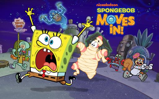 SpongeBob & Friends: Build Nickelodeon's Mega City screenshot 4