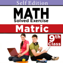 9th class math solved solution Exercises