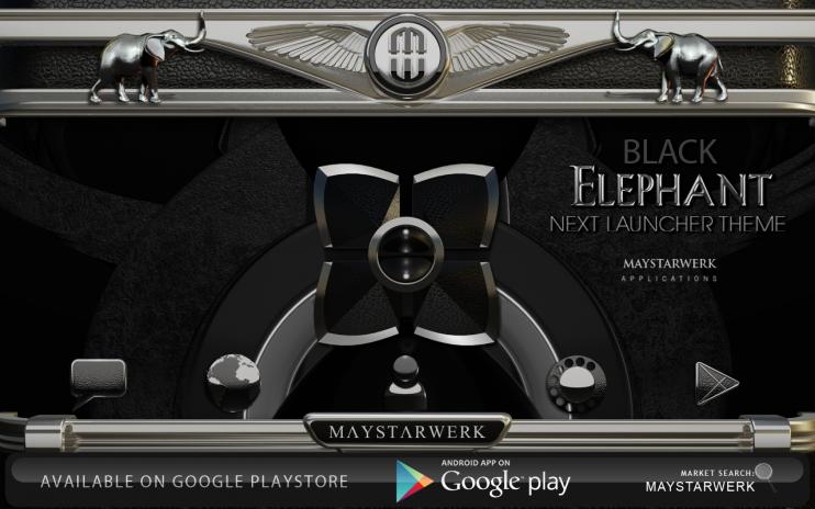 Next Launcher Theme Black Elephant 4 72 Download APK for