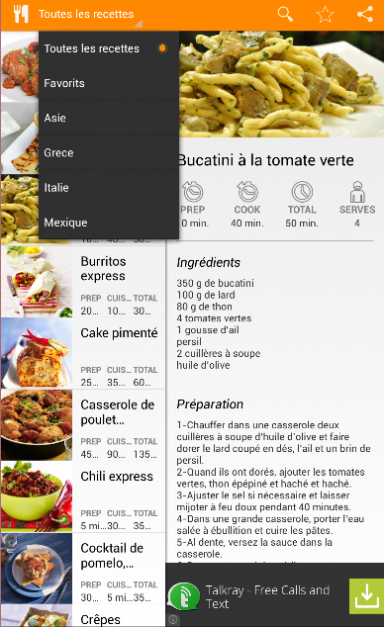 Cuisine du monde download apk for android aptoide for Cuisine du monde