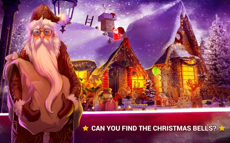 Hidden Objects Christmas Magic Screenshot 1