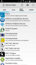 SQLite Editor Screenshot