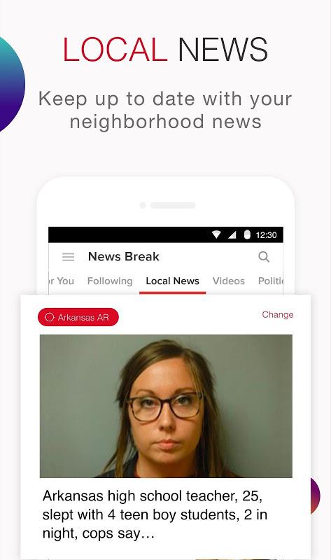 News Break:Discovering & Delivering Your Interests screenshot 1