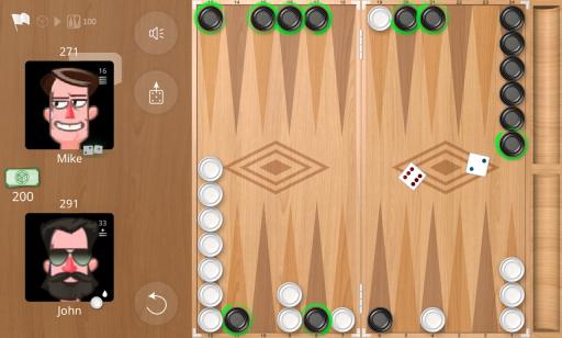 Backgammon Online screenshot 3