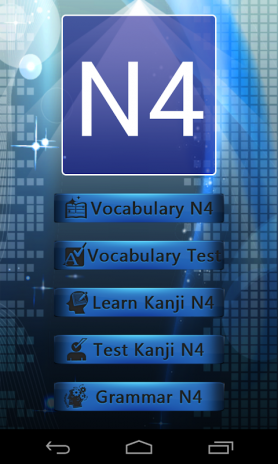 Test Vocabulary N4 Japanese 2 4 Download APK for Android