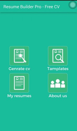 Resume Builder Pro Free Cv 1 0 4 Download Apk Android Aptoide