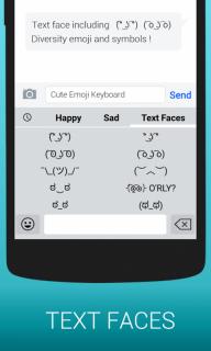 Emoji Keyboard - Kitkat,Smiley screenshot 3