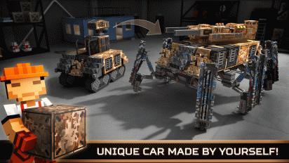 blocky cars online shooter fps screenshot 6