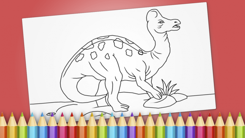 Dinosaurs Coloring Book Game Screenshot 1 2