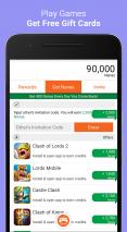 AppNana - Free Gift Cards Screenshot