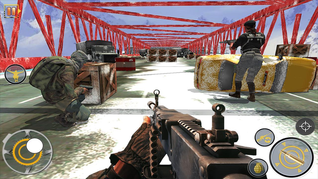Free Fire Shooting Battleground: Gun Shooting Game screenshot 2