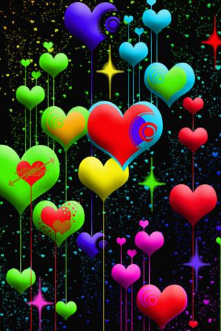 Fondos de amor en 3d