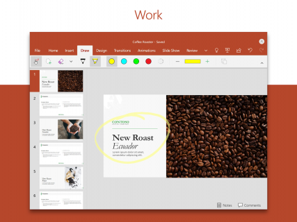 Microsoft PowerPoint: Slideshows and presentations screenshot 7
