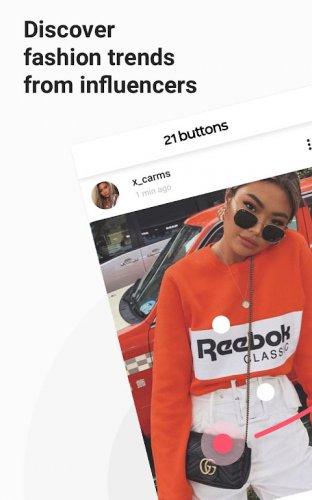 21 Buttons - Fashion Network & Clothes Shopping screenshot 10