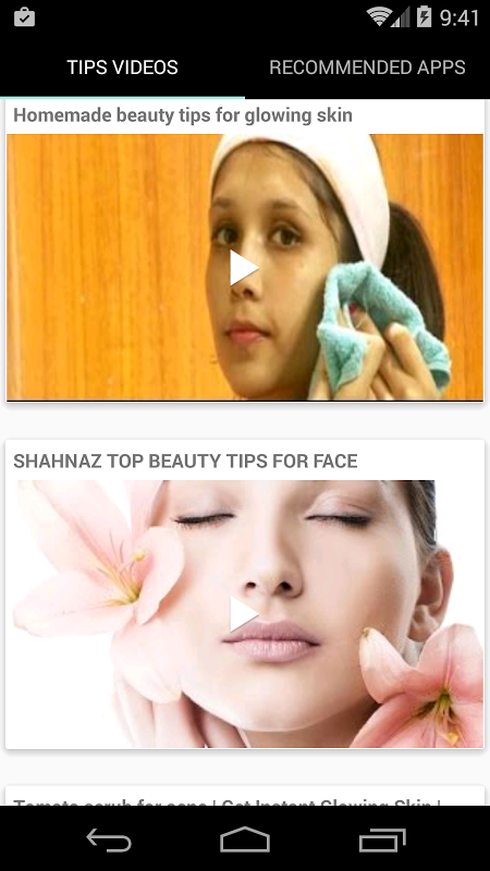 Beauty Tips for Face English screenshot 2