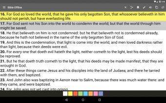Bible Offline Screenshot