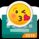 Rockey-fast emoji send keyboard for coloful chat
