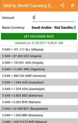 Exchange Rates Currency Converter