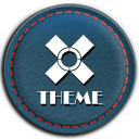 Leather SportBlue Theme