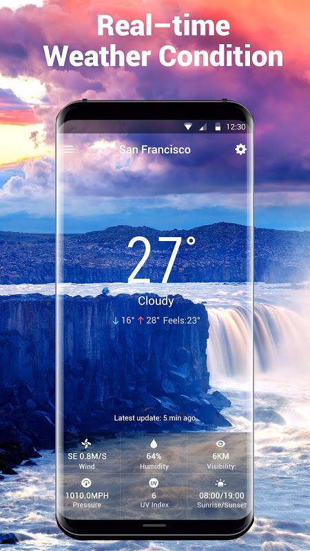 Local Weather Report Widget screenshot 1
