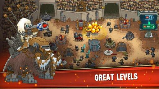 Steampunk Defense: Tower Defense screenshot 4