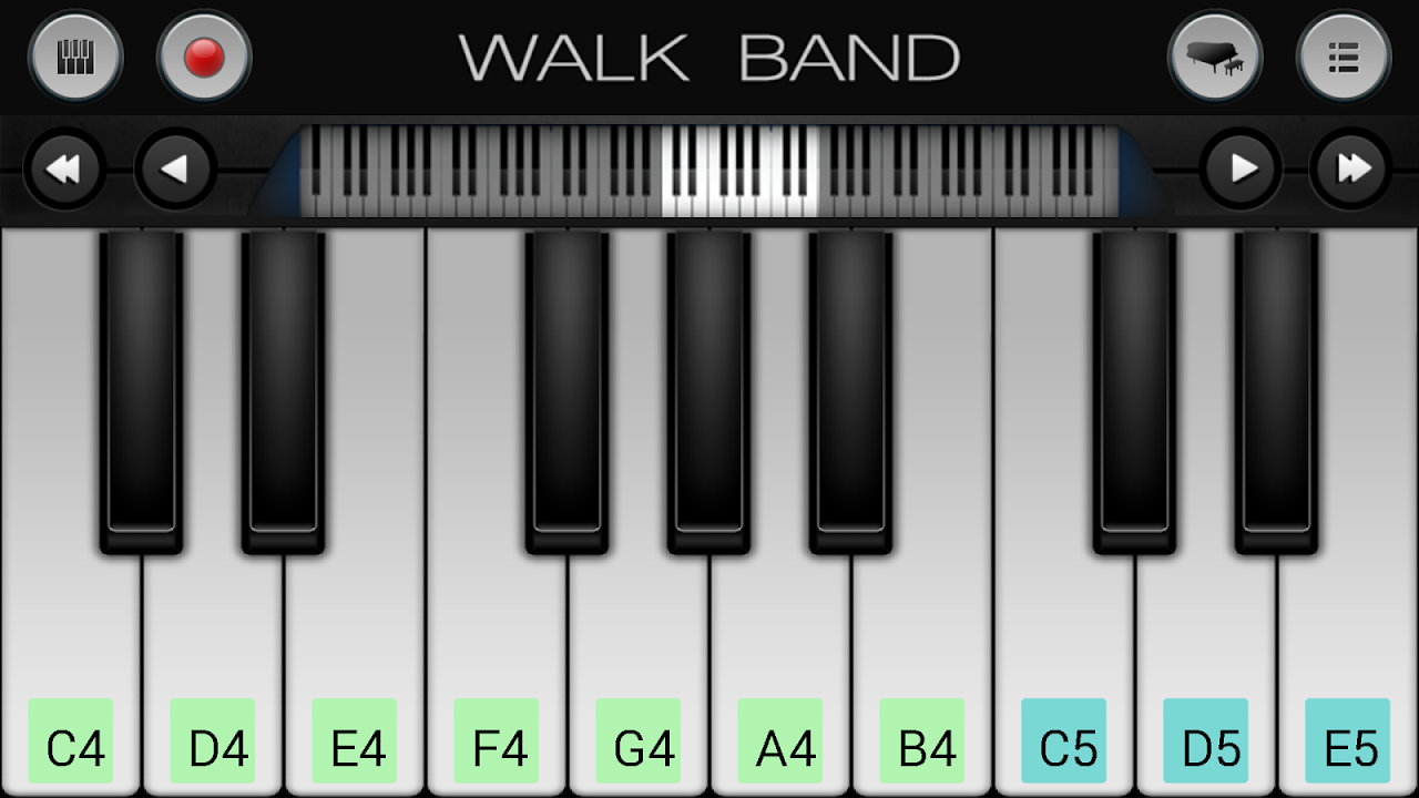 Walk Band screenshot 1
